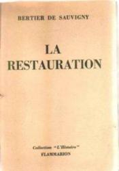 Restauration. Revolutions. Nationalites (1815-1870) - Couverture - Format classique