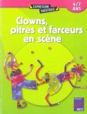 Clowns, pitres et farceurs en scène - Intérieur - Format classique