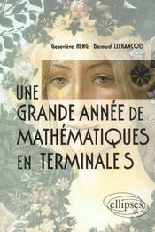 Une Grande Annee De Mathematiques En Terminale S - Intérieur - Format classique