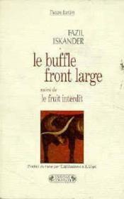 Le buffle front large - Couverture - Format classique