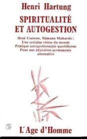 Spiritualite Et Autogestion - Couverture - Format classique