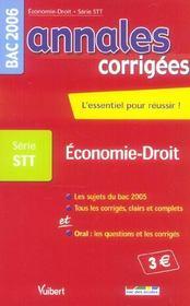 Annales Corrigees T.16 (édition 2006) - Intérieur - Format classique