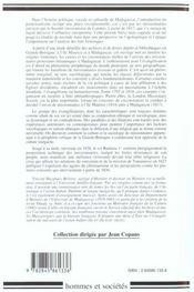 Premiers missionnaires protestants de madagascar (1795-1827) - 4ème de couverture - Format classique