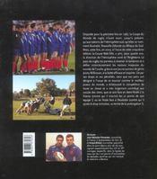 Coupe du monde rugby 2003 - 4ème de couverture - Format classique