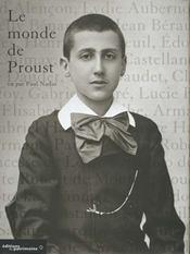 Le monde de Proust - Intérieur - Format classique