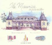 Ile Maurice ; aquarelles - Intérieur - Format classique
