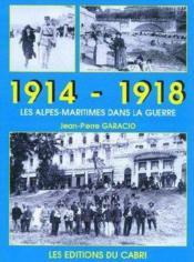 1939-1945, guerre dans les Alpes maritimes - Couverture - Format classique