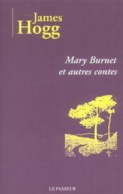 Mary Burnet ; et autres contes - Intérieur - Format classique