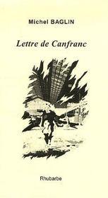 Lettre de canfranc - Couverture - Format classique
