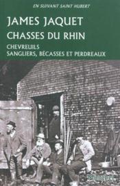 Chasses du Rhin - Couverture - Format classique