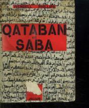 Qataban Et Saba. - Couverture - Format classique