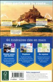Sur la route des régions de France (2e édition) - 4ème de couverture - Format classique