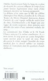 Mercy Hospital - 4ème de couverture - Format classique