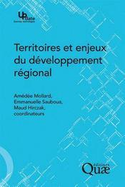 Territoires et enjeux du développement régional - Couverture - Format classique