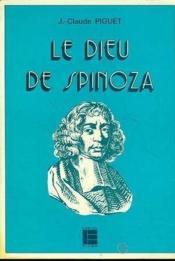 Le Dieu De Spinoza - Couverture - Format classique
