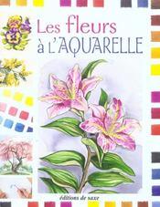Les fleurs a l'aquarelle - Intérieur - Format classique