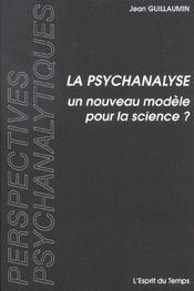 La psychanalyse un nouveau modele pour la science - Intérieur - Format classique