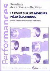 Le point sur les moteurs piezoelectriques performances resultats des actions collectives ap 867 - Couverture - Format classique