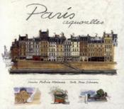 Paris ; aquarelles - Couverture - Format classique