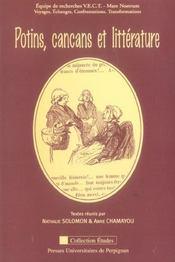 Potins cancans et litterature - Intérieur - Format classique