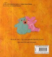 Des amis de toutes les couleurs - 4ème de couverture - Format classique