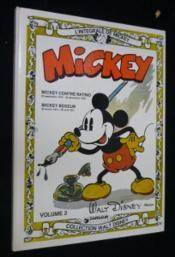 L'intégrale de Mickey volume 2 : Mickey contre Ratino ; Mickey boxeur - Couverture - Format classique