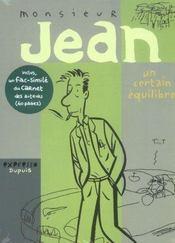 Monsieur jean t.7 ; un certain equilibre + coffret vide - Intérieur - Format classique