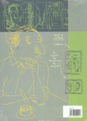 Monsieur jean t.7 ; un certain equilibre + coffret vide - 4ème de couverture - Format classique