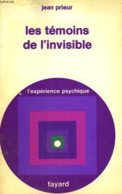Les Temoins De L'Invisible. - Couverture - Format classique