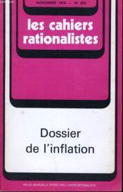 Les Cahiers Rationalistes N° 313 - Dossier De L'Inflation - Couverture - Format classique