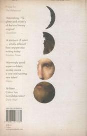 The luminaries - 4ème de couverture - Format classique