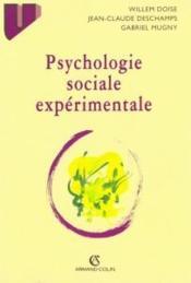 Psychologie sociale experimentale - Couverture - Format classique