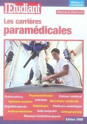 Les carrieres paramedicales - Intérieur - Format classique