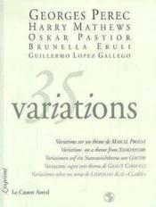 35 variations - Couverture - Format classique