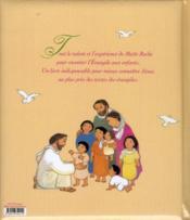 La belle histoire de Jésus - 4ème de couverture - Format classique
