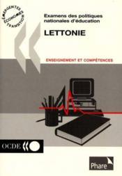 Examens des politiques nationales d'education lettonie - Couverture - Format classique