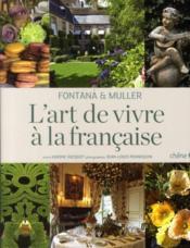 L'art de vivre à la française - Couverture - Format classique