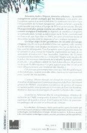 La société vulnérable ; criminalité, terrorisme et insécurité en europe - 4ème de couverture - Format classique