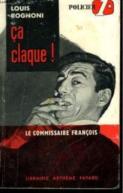Ca Claque! Le Commisaire Francois N° 4 - Couverture - Format classique