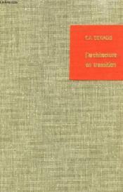 L'Architecture En Transition - Couverture - Format classique