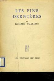 Les Fins Dernieres. - Couverture - Format classique