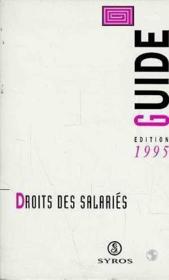 Droits Des Salaries - Couverture - Format classique