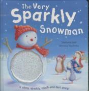 The Very Sparkly Snowman - Couverture - Format classique