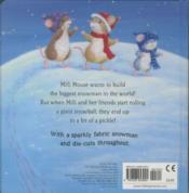 The Very Sparkly Snowman - 4ème de couverture - Format classique