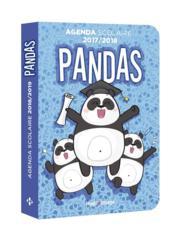 Agenda scolaire ; panda (édition 2018/2019) - Couverture - Format classique