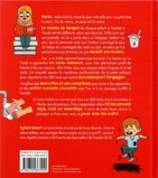 Les 500 mots qu'un enfant doit connaître pour entrer en maternelle - 4ème de couverture - Format classique