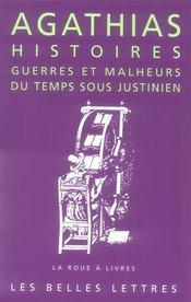 Guerres et malheurs du temps sous Justinien - Intérieur - Format classique
