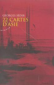 22 cartes d'asie - Intérieur - Format classique