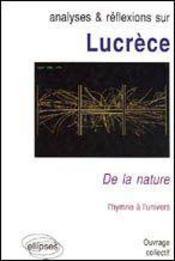 Lucrece De La Nature L'Hymne A L'Univers - Intérieur - Format classique