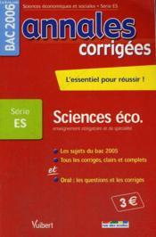 Annales Corrigees T.21 (édition 2006) - Couverture - Format classique